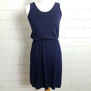 GAP size XS Tank Dress Sleeveless Navy Blue